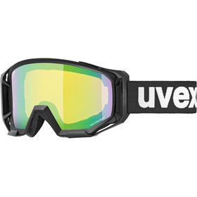 UVEX Athletic Colorvision Goggles, black/mirror green
